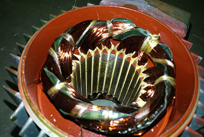 Riavvolgimenti motori elettrici C.C. e C.A. ed elettropompe