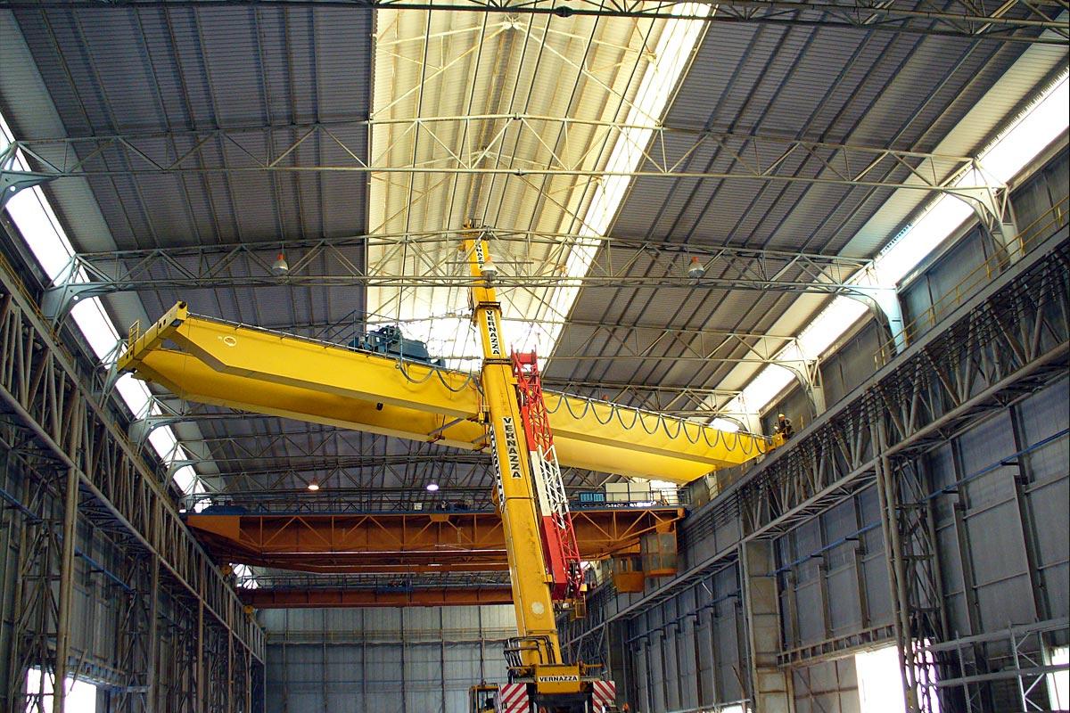 Schema Elettrico Per Carroponte : Montaggio collaudo carroponti installazione linee vita